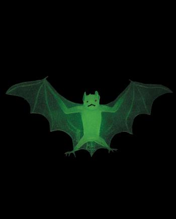Glow In The Dark Bats 4 Pcs.