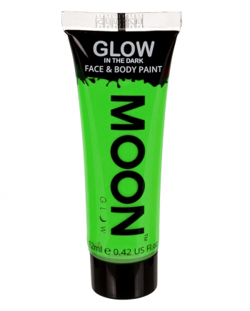 Glow In The Dark Make-up Neon Green