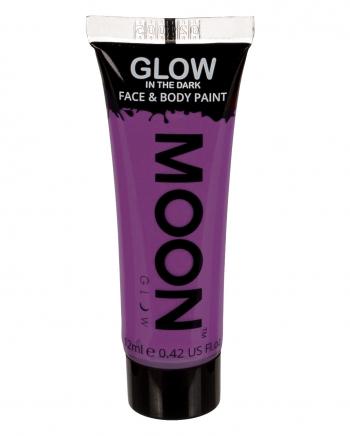 Fluoreszierendes Make-up Violett