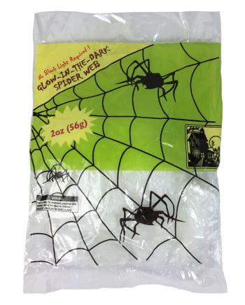 Leuchtende Spinnenweben 56g