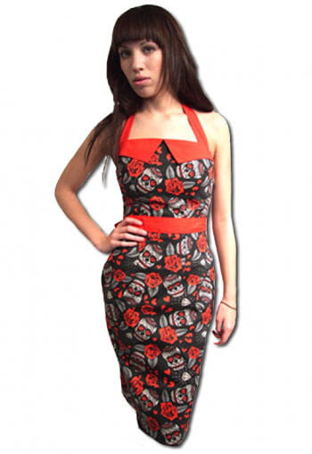 Rockabilly Kleid im angesagten Tattoo Style