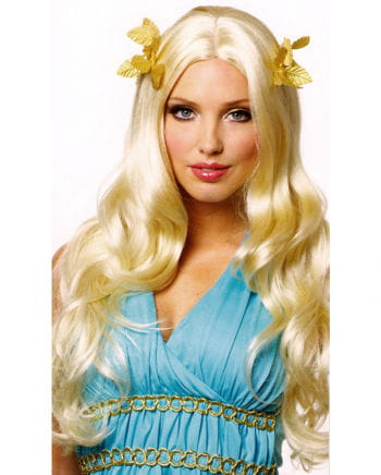 Goddess Wig With Bay Leaf Blond