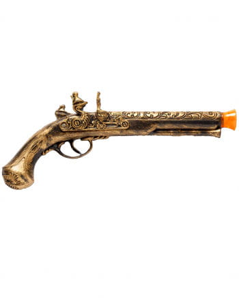 Golden Pirate Gun With Effect