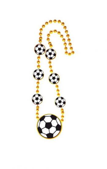 Gold football chain