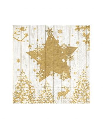 Golden Star Servietten 20 Stück