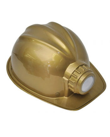 Miners helmet as costume accessories