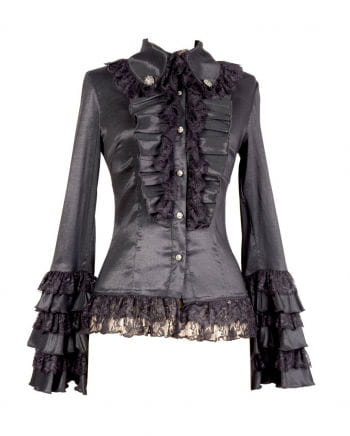 Gothic Blouse Black