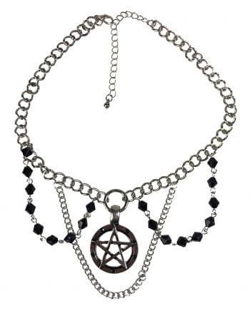 Necklace With Pentagram Pendant
