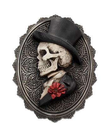 Gothic Skelett Gentleman Day of the Dead Wand- & Standbild