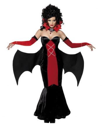 Gothic Vampiress Damen Kostüm