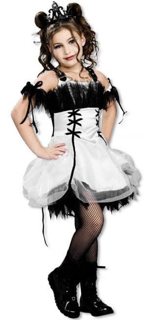 Gothic Ballerina Kinderkostüm L L