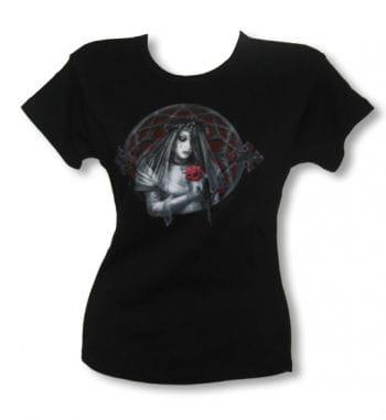 Gothic Bride Girl Shirt black