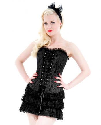 Gothic Minikleid schwarz