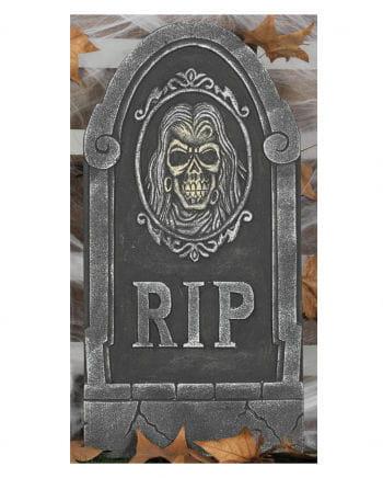 Grabstein mit Totenschädel RIP