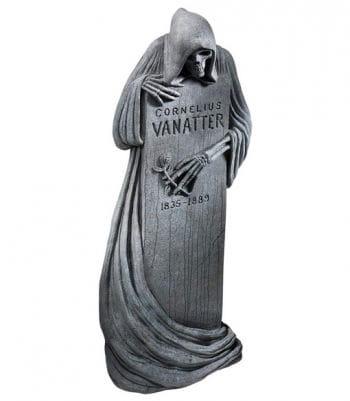 Halloween Grabstein Skelett Reaper 117 x 45 cm