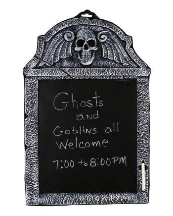 Gravestone Writing Board With Chalk