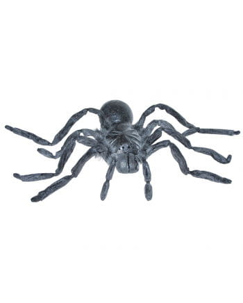 Gray latex giant spider 90 cm
