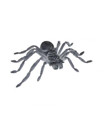 Gray latex giant spider 50 cm
