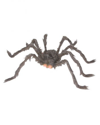Gray spider with red LED eyes