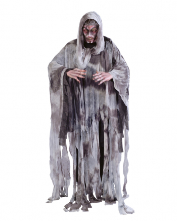 Grey Shred Ghost Men Costume One Size