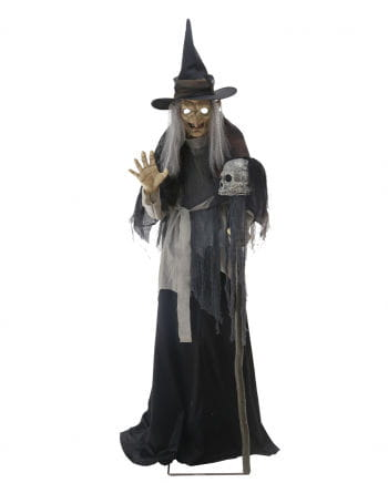 Gripping Witch Halloween Animatronic