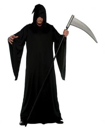 Schwarzes Sensenmann Kostüm
