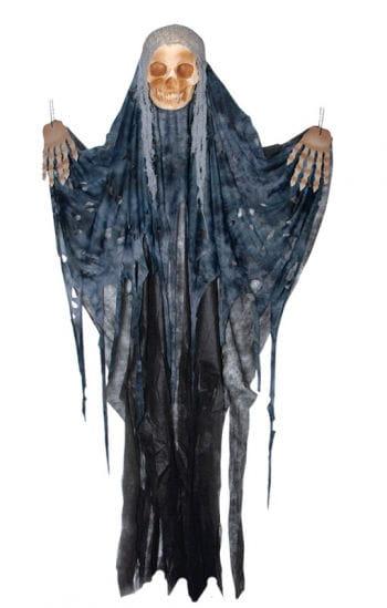 Totenschädel Vorhang schwarz
