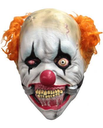 Derbe Clown Maske mit Mundsperre