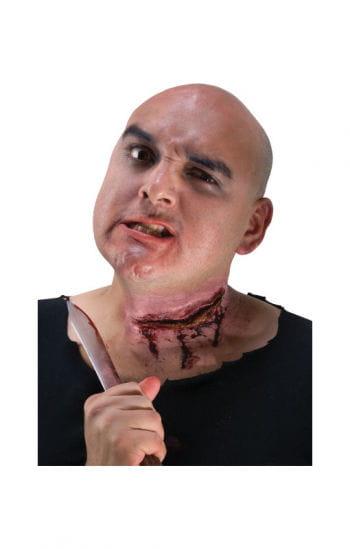 Slashed Neck Wound