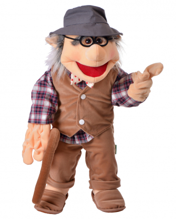 Grandfather Hand Puppet 65 Cm