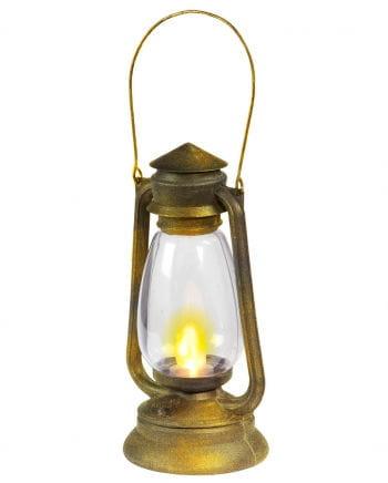 Mining Lantern With LED Flickering Light