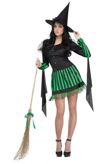 Green Witch Ladies Costume