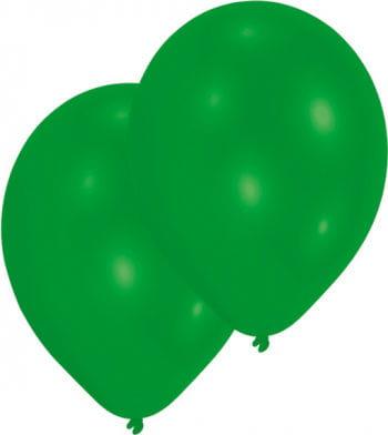 Grüne Premium Luftballons 50 St.
