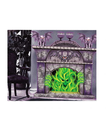 Flame Monster Wall Decoration