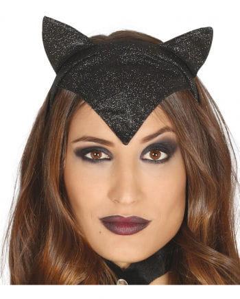 Glitter Hair Ribbons Cat Woman