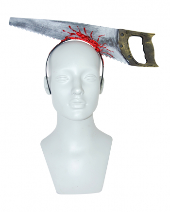 Hairband With Bloody Saw