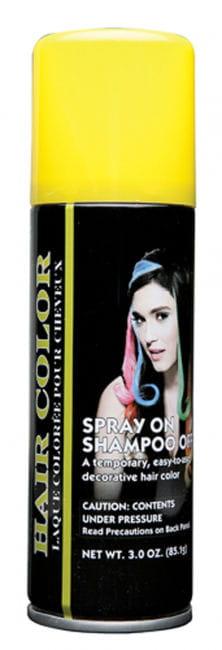 Fluoreszierendes Haarspray gelb