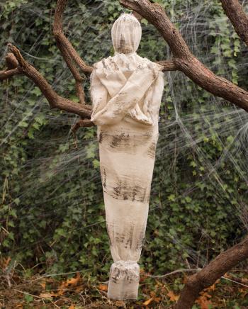 Hängende Mumie Gartendekoration 90 cm