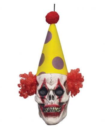 Clown Totenkopf Hängedeko