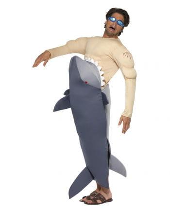 Haifisch Attacke Kostüm