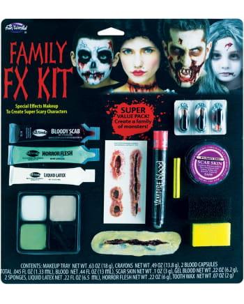 Familien FX Schminkset Halloween