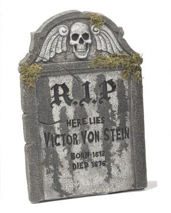 Halloween Tombstone mit Totenkopf 55cm
