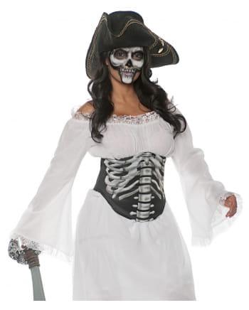 Halloween Bodice Skeleton