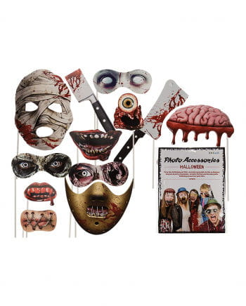 Halloween Monster Photobox 12 Pcs.