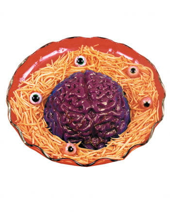 Halloween Puddingform Gehirn
