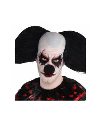 Clownsnase aus schwarzem Schaumstoff