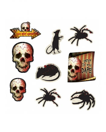 Spooky Halloween Dekoration 12-teilig
