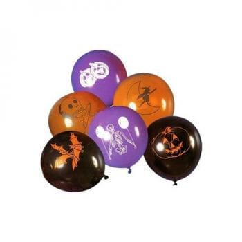 sorted balloons Happy Halloween 8 St.