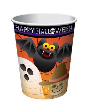 Süße Halloween Pappbecher 8 St.