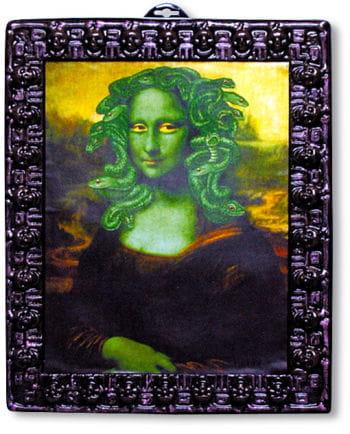 Halloweenbild Medusa Lisa